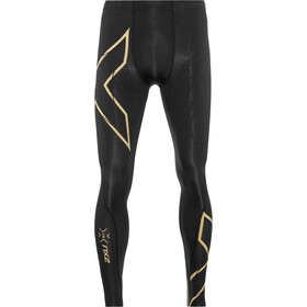 2XU MCS Run Compression Leggings Heren, black/gold reflective